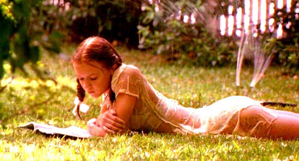Доминик Суейн като Лолита в едноименния филм.
