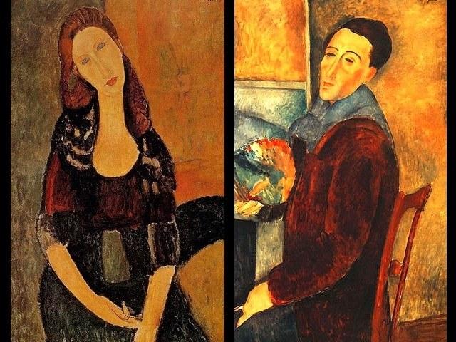 Амедео Мидилиани. Жан и Автопортрет.