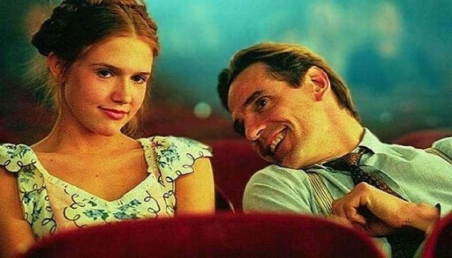 """Доминик Суейн и Джеръми Айрънс в култовия филм """"Лолита"""""""