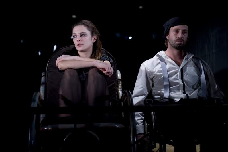 """С Калин Врачански в """"Гарванът"""", """"Театър 199""""."""