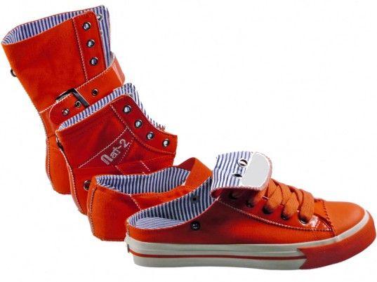 """Находчивите дизайнери от """"Нат-2"""" измислиха как да решат проблема, създавайки всесезонни обувки, пише modalady.ru."""