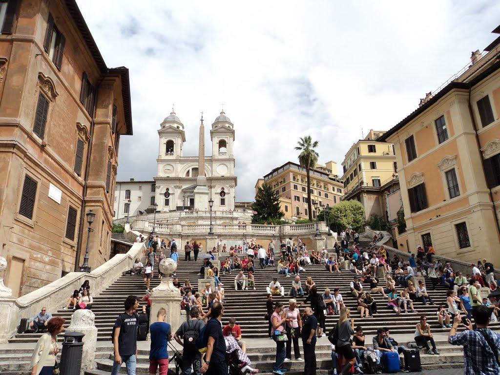 Тринита-дей-Монти в Рим.
