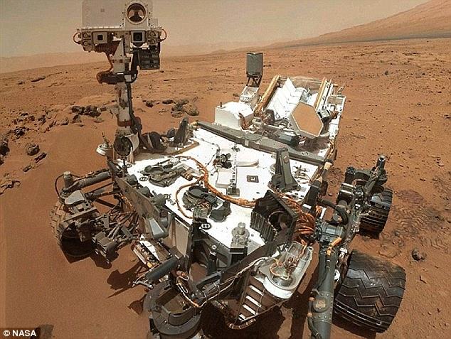 Марсоходът Кюриосити