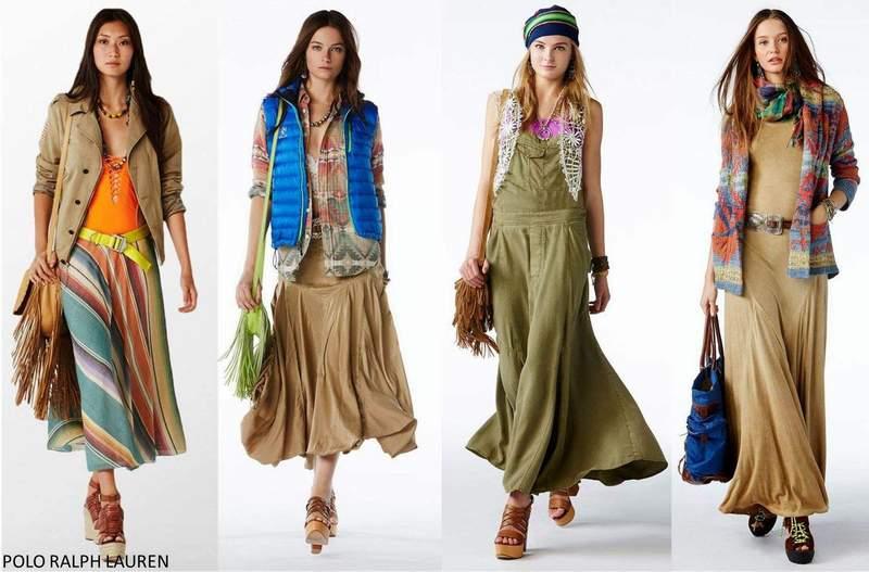 Хипи мода от 70-те.