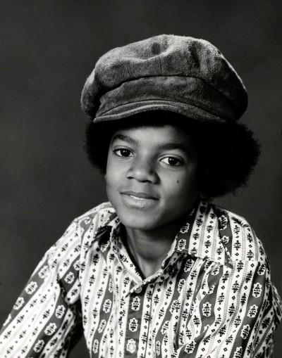 Майкъл Джаксън като дете, когато е тормозен от баща си.
