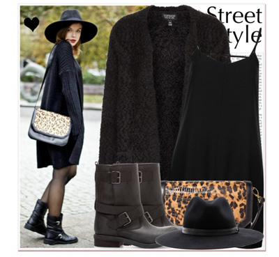 В късната есен и в първите топли зимни дни може да ходите, облечени така, в стил casual.