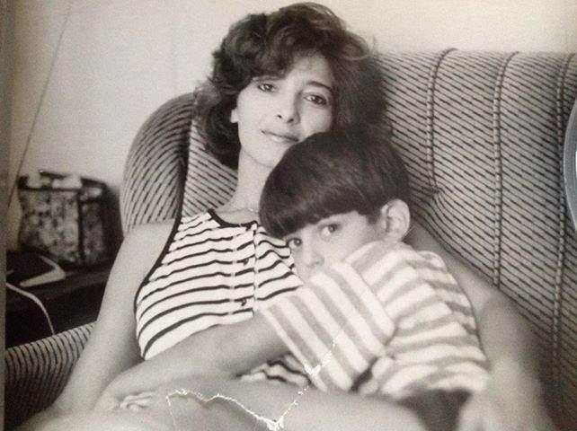 Майка и син.