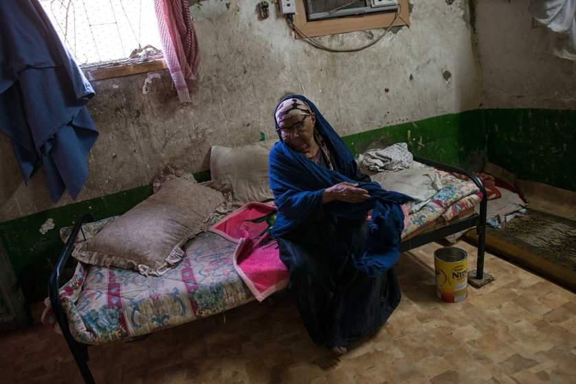 Така изглежда спалнята на бедна саудитска жена - Селма Салех.