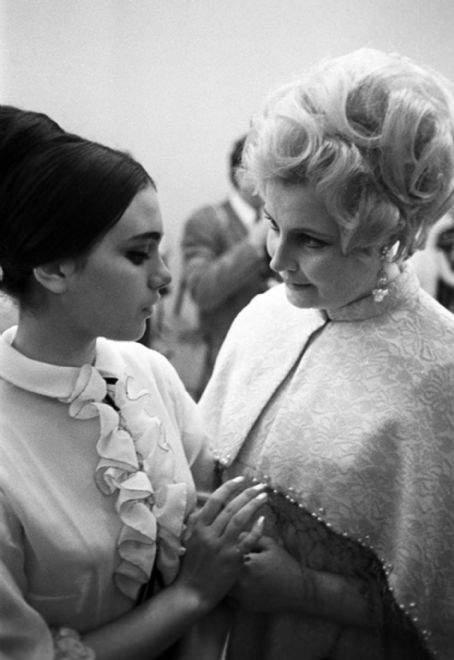 С актрисата Татяна Доронина.