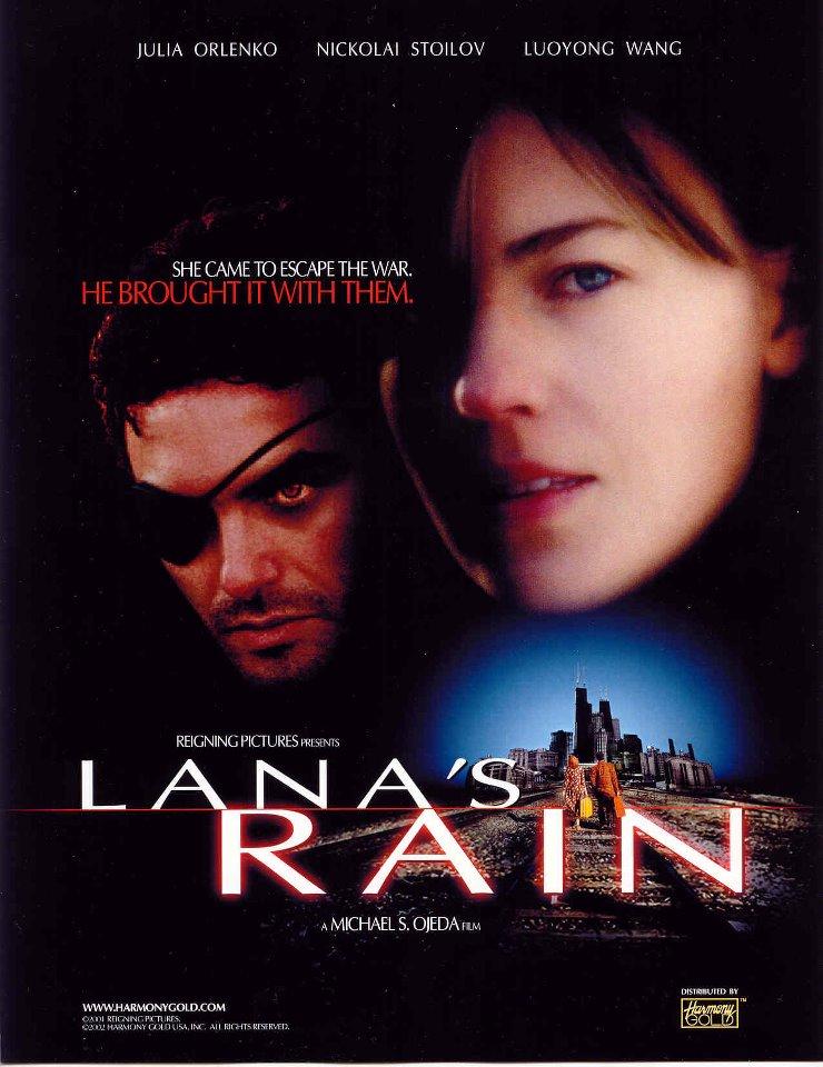 """Плакат от филма """"Дъждът на Лана""""."""