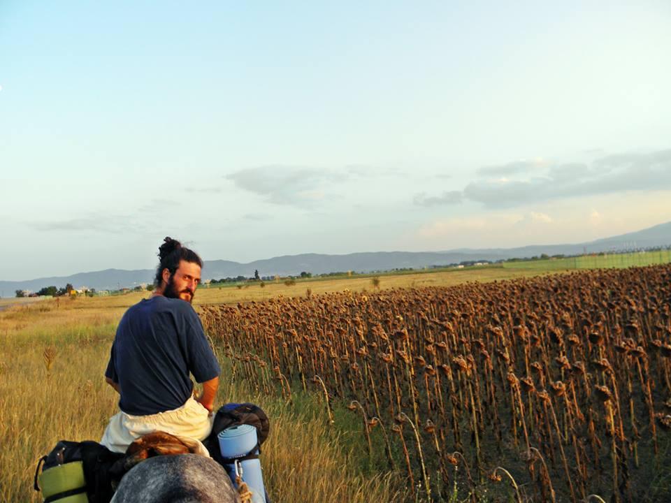 Филип на преход на коне през Софийското поле от Желен до Железница, 2013 г.