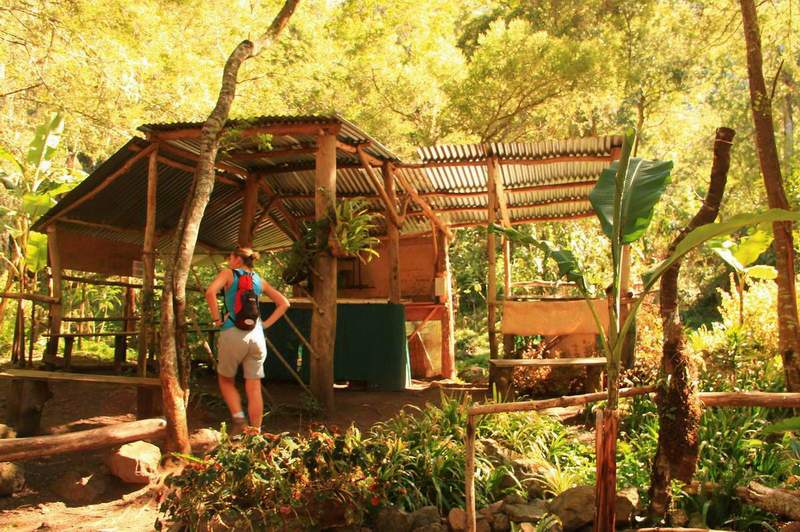 Магазинът за сладка и чайове на остров Реюнион.