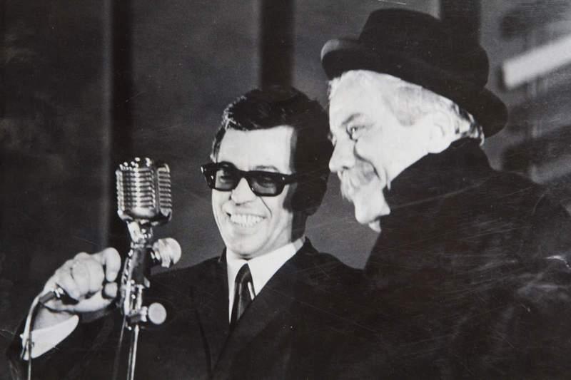 """В радиото, по времето, когато се излъчва предаването """"Къдрава антена"""", 1967 г."""