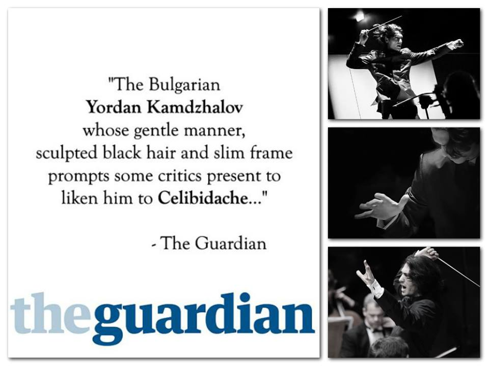 Едно от най-авторитетните издания в света - The Guardian сравнява Йордан Камджалов с легендарния Чибидаке.