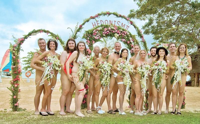 Голите сватби са хитът на лято 2015.