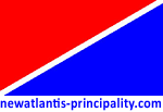 Знамето и логото на официалния сайт на Княжество New Atlantis.