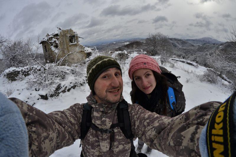 Зимен рурекс в изоставена махала край родопското село Гърбище, община Ардино.