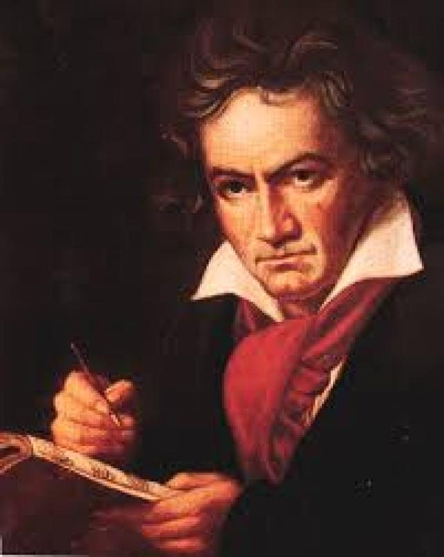 Лудвиг ван Бетховен.