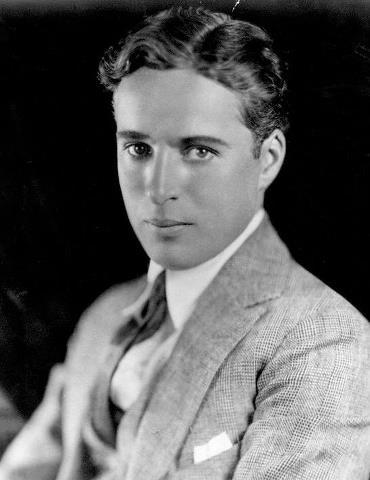 Чарлз Спенсър Чаплин като млад, 1920 г.