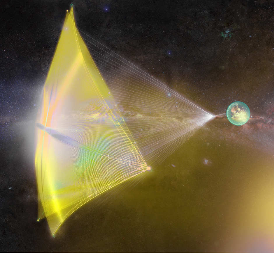 Снимка: Breakthrough Starshot