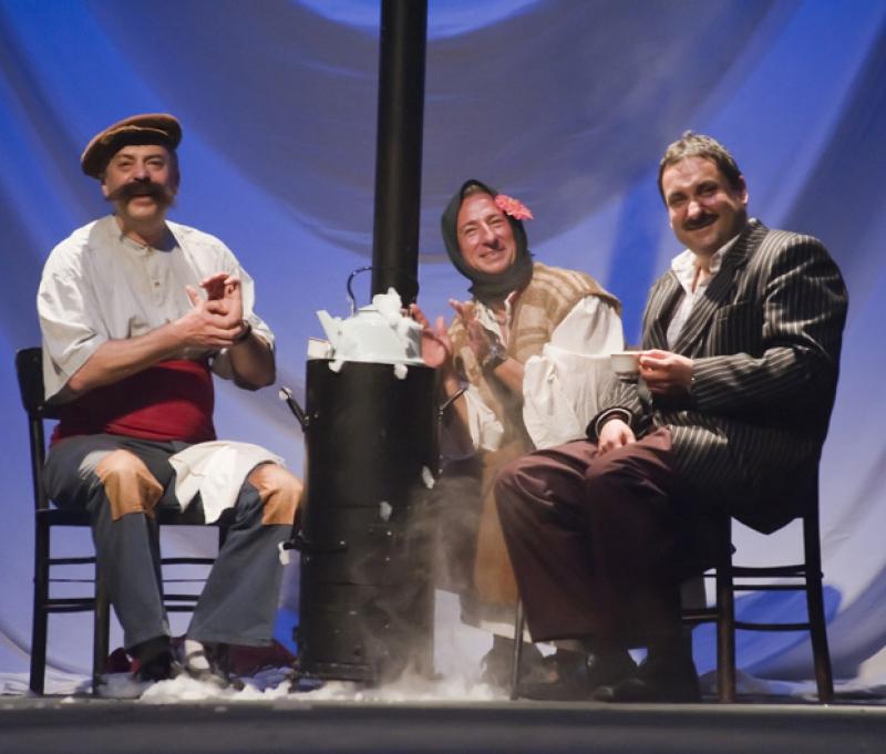 """В """"Балкански аристократи"""", Бургаски театър."""