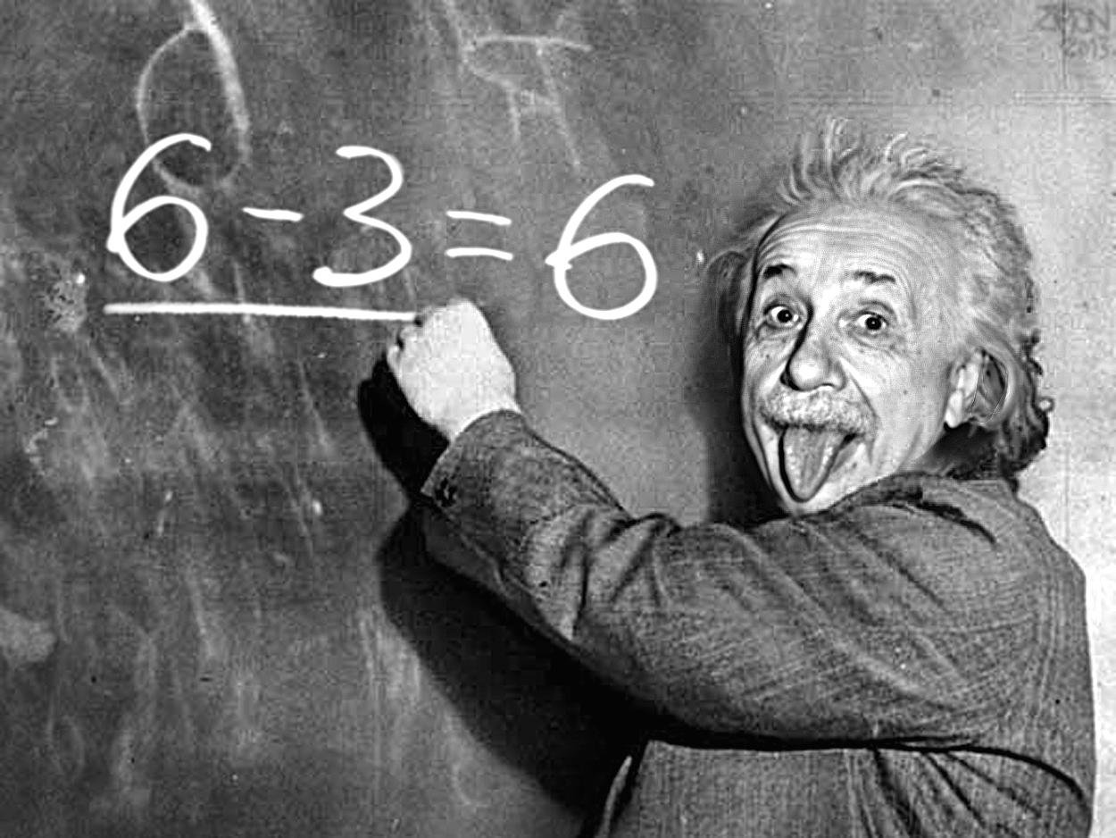 Алберт Айнщайн.