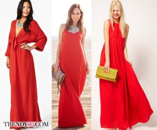Летни рокли с бижу - колие, и в добро съчетание с чанти тип клъч.