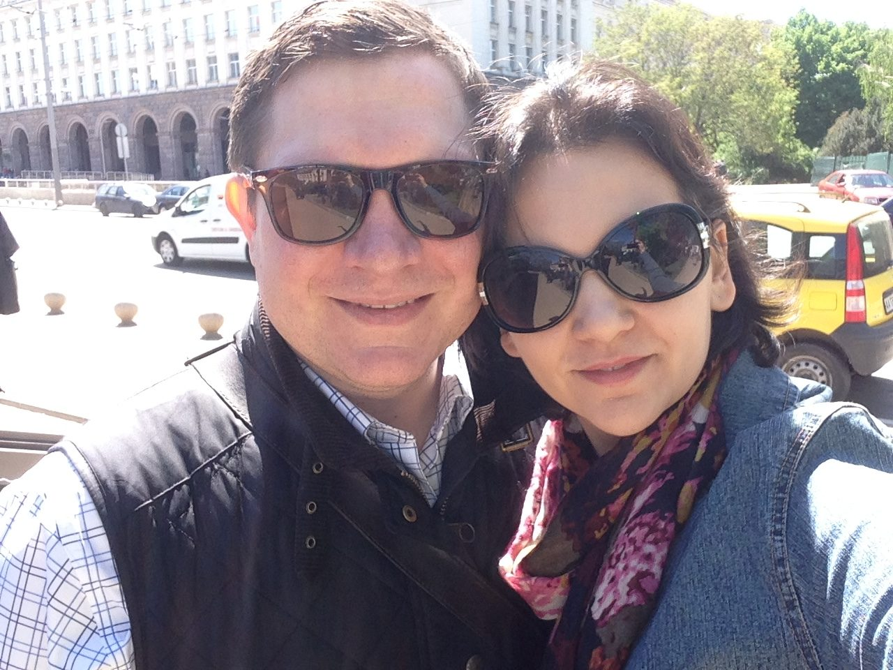 Зорница и Сет са щастливи в София.