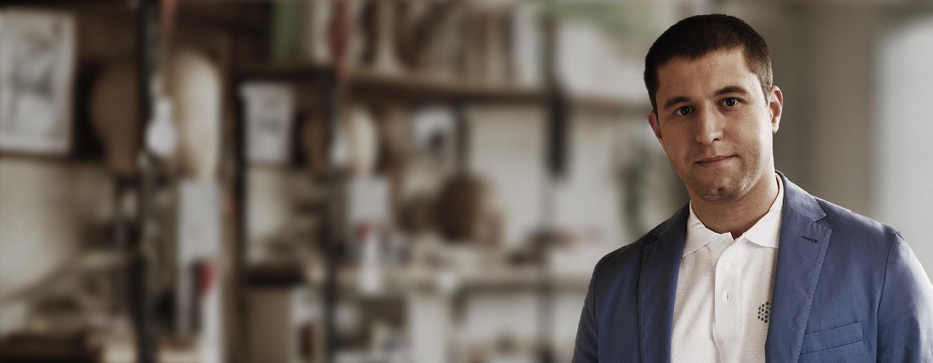 Сергей Петров, автор на проекта и съосновател на Bee Smart Technologies. Сн. The Venture.