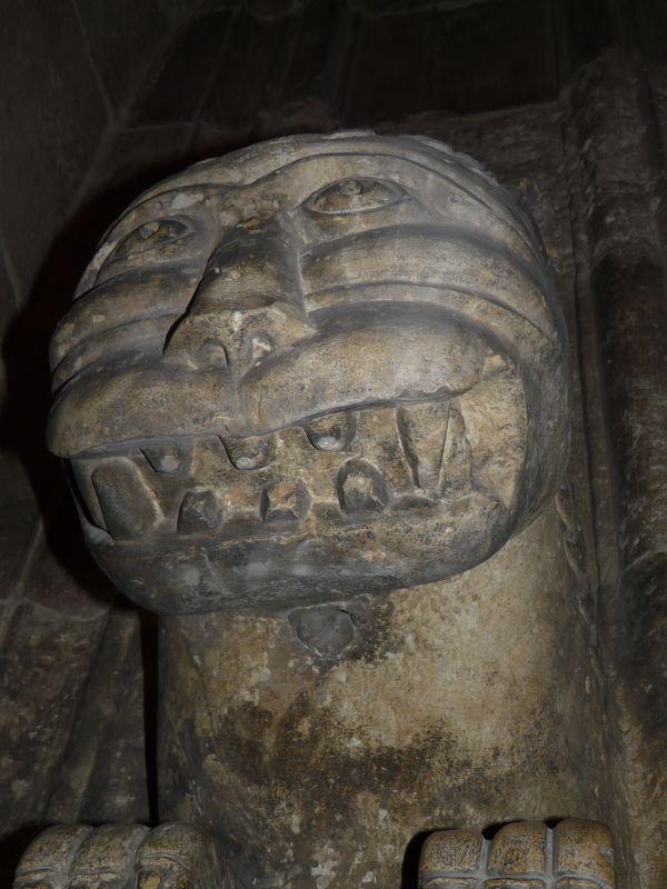 Скулптурен лък от Цитаделата в Алепо.