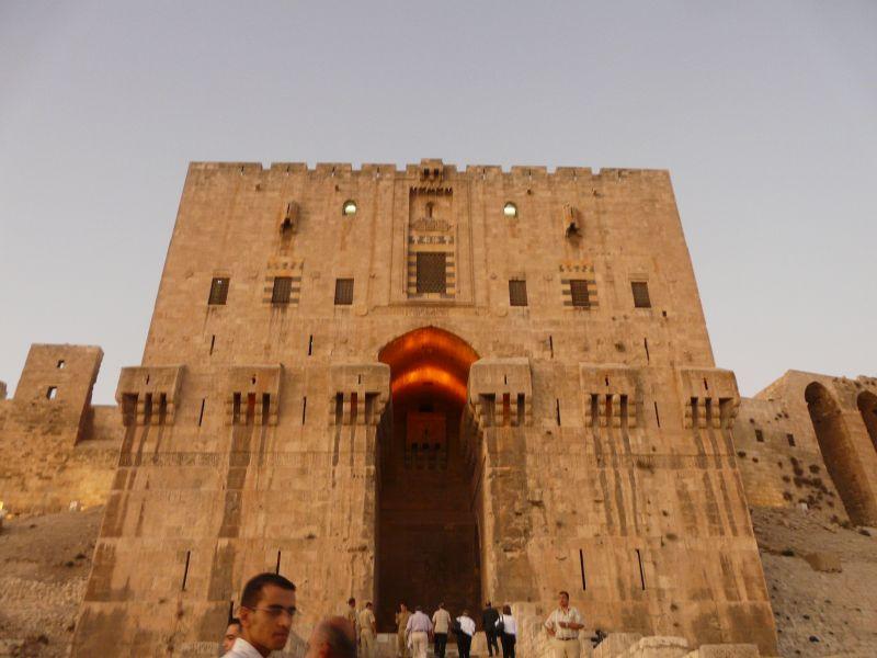 Цитаделата в Алепо.