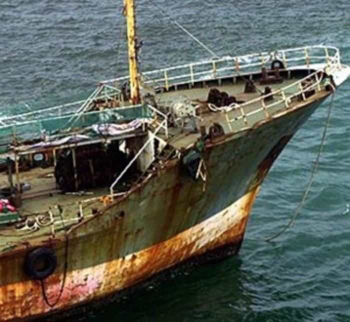 Корабът Оранг Медан.