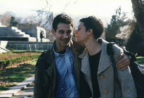 С Елина Кешишева по времето на тяхната любов.