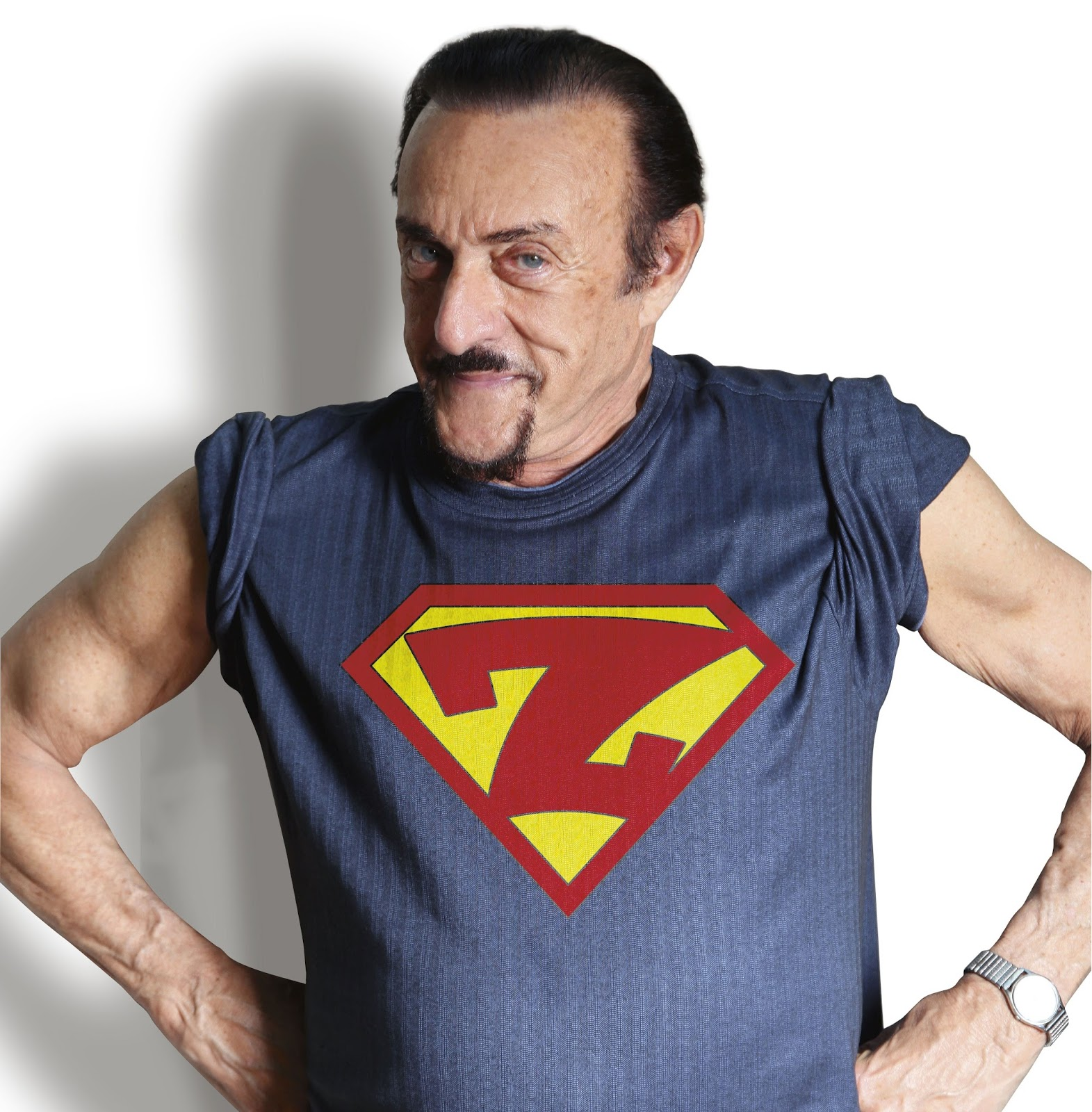 Проф. Зимбардо като супермен.