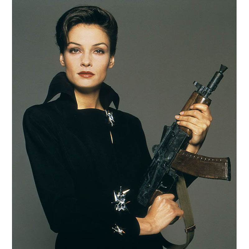 FAMKE JANSSEN 007 JAMES BOND: GOLDENEYE UNITED ARTISTS 01/05/1995 CTJ27918