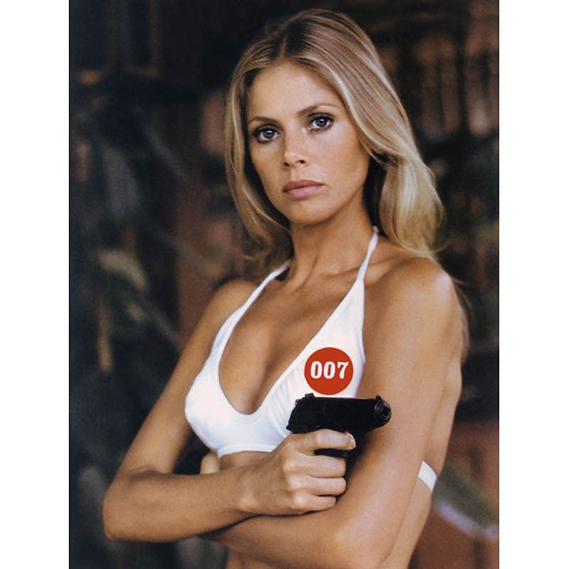BRITT EKLAND JAMES BOND:MAN WITH GOLDEN GUN 01/05/1974 CT523