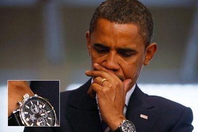 Президентът Барак Обама също носи Rolex.