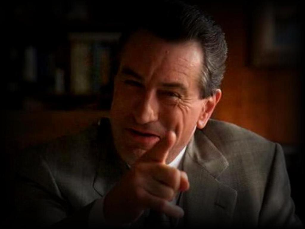 'R you talking to me?... Робърт де Ниро - един от символите на силния човек - и на екрана, и извън него.