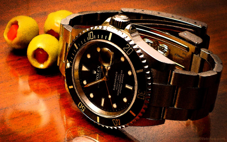 Submariner - часовникът на Агент 007.