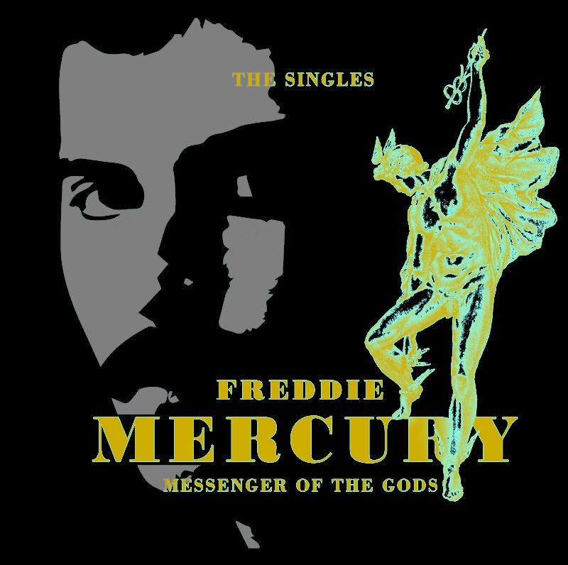 Обложката на сингъл колекцията Messenger Of The Gods.