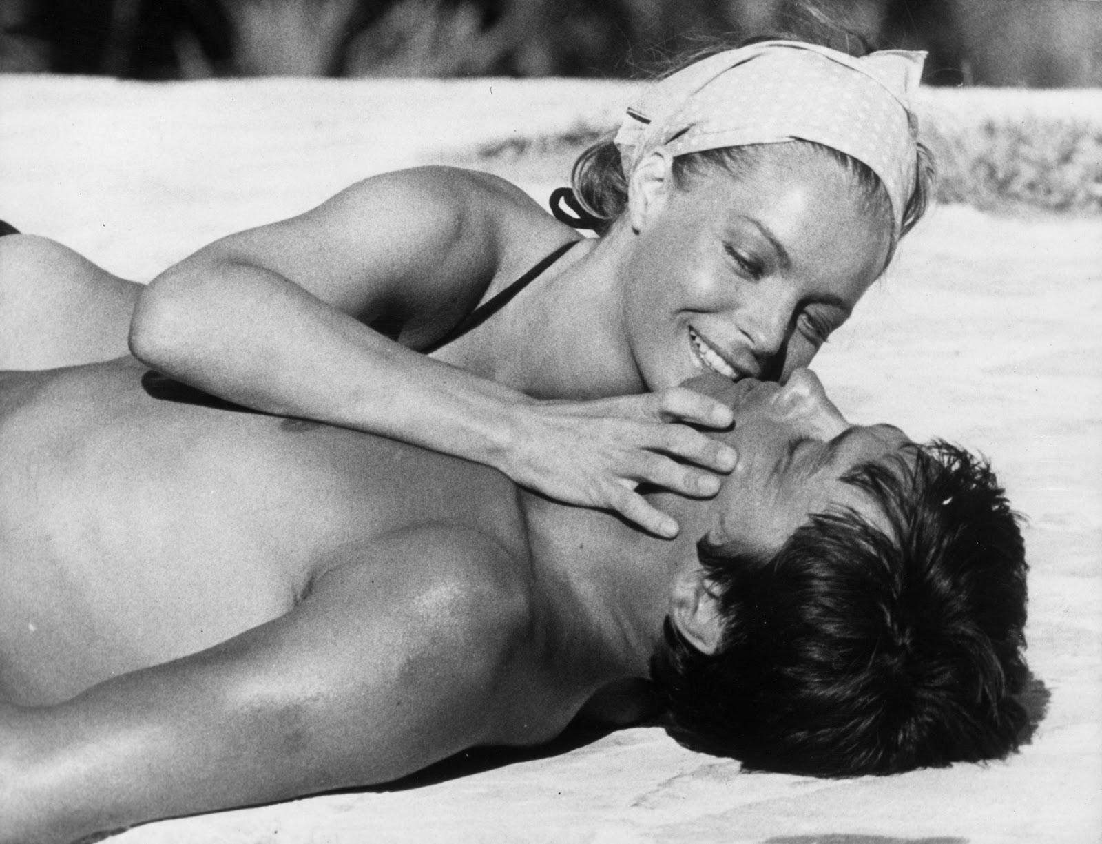 С Ален Делон, 1969 г.